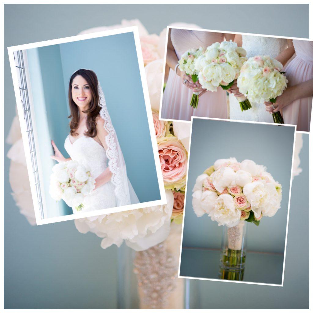 Wedding Collage Peonies