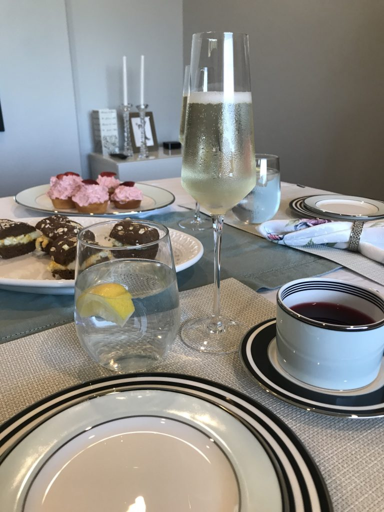 Living Frenchly Tea and Champagne